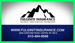 Emerald Sponsor - Fulginiti Insurance & Auto Tags